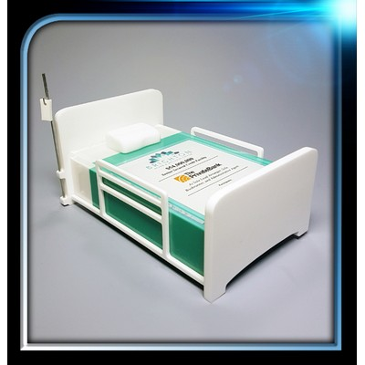 "Custom Lucite Hospital Bed Award (6""x3""x3 5/8"")"